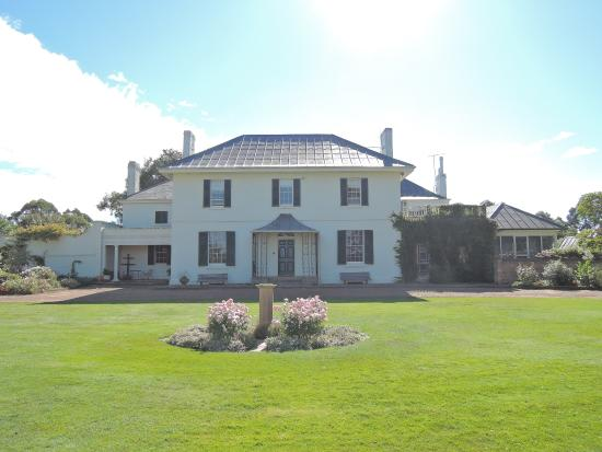 Longford, Australia: レンガ造りのメインハウス