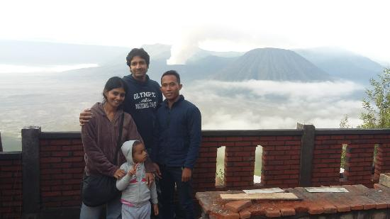 Taman Nasional Bromo Tengger Semeru, Indonesia: With Mr.Kumar from malay