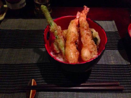 Restaurant Ichi: 天丼2(tendon)
