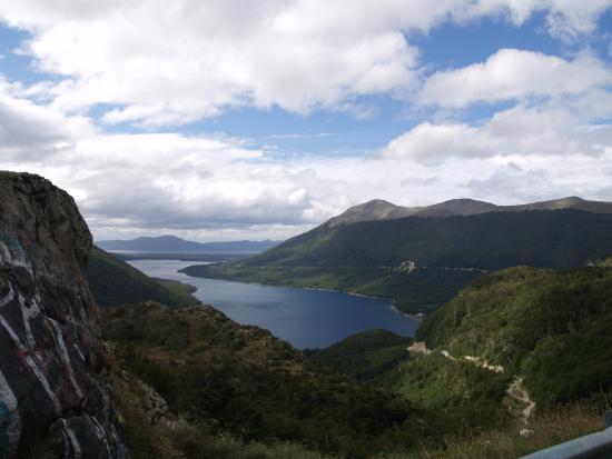 Baños Quimicos General Roca:Atardecer en el lago Roca: fotografía de Parque Nacional Tierra del