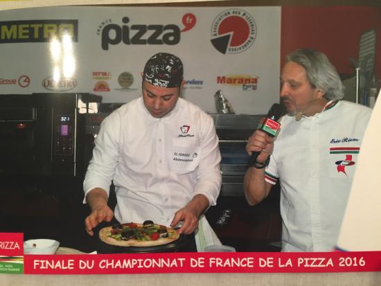 Prevessin Moens, Fransa: Final championnat de France pizza 13/14/03/2916