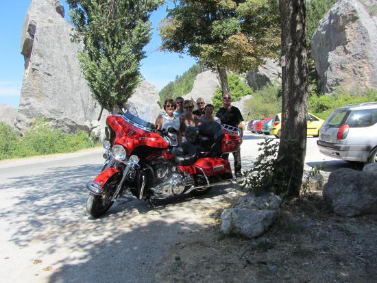 La Piverdiere : La Piverdière balade à moto