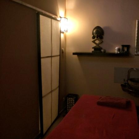 Beauty Balinese Boutique : A massage area