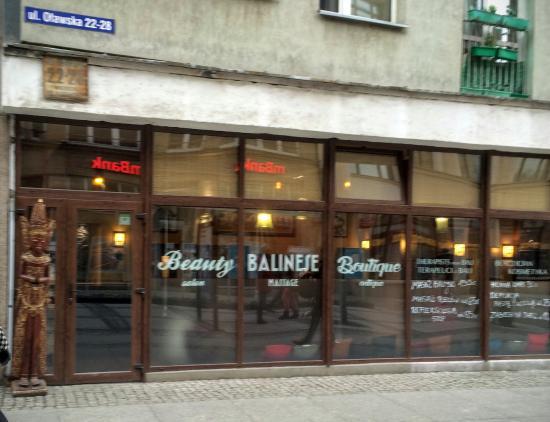 Beauty Balinese Boutique : Entrance