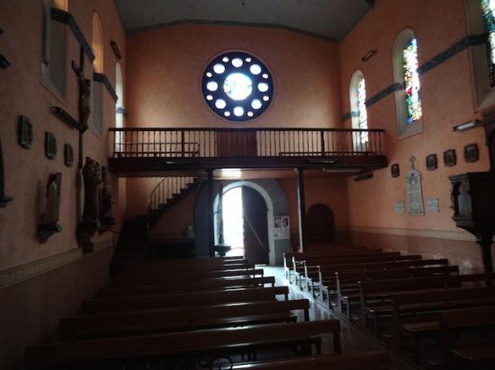 Église Saint-Vincent, Beaucens (Hautes-Pyrénées,Languedoc-Roussillon-Midi-Pyrénées), France.