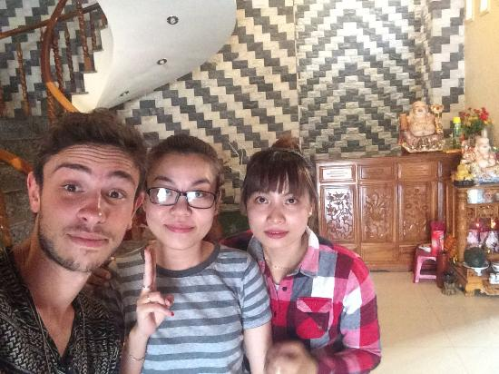 Homestay Hoa Mau Don : Come here good place!! Good service, good rooms, very friendly. Just come.