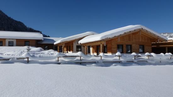 Wintermärchen im Almdorf tirol am Haldensee