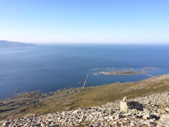 Vannareid, Noruega: View towards Torsvåg