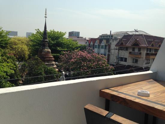 balcony on 3 floor picture of tch guest house hostel chiang mai rh tripadvisor co za