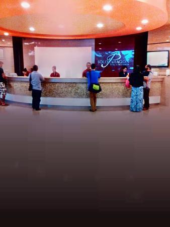 receptionist picture of solo paragon hotel residences solo rh tripadvisor co za