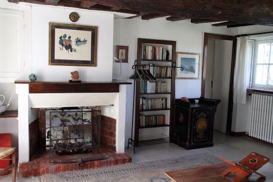 Poigny la Foret, France: chambre Valentino