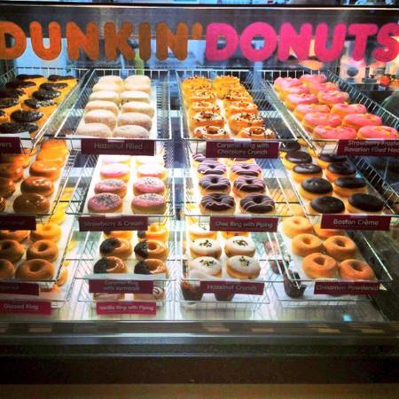 Abington, UK: Dunkin Donuts