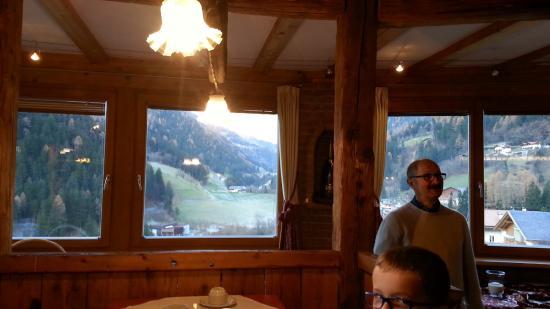 Hotel Bergland: Vista dal ristorante