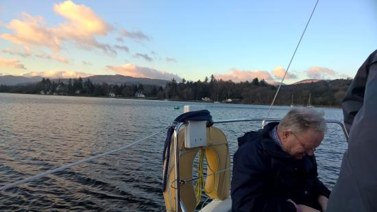Bowness-on-Windermere, UK: On our way up the lake