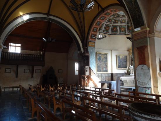 Église Saint-Martin de Marsous, Arrens-Marsous (Hautes-Pyrénées), France.