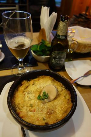Lafquen Antu : Well prepared and large local dishes