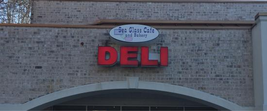 Sea Glass Cafe and Bakery: Outside sign