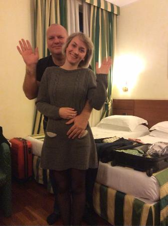 BEST WESTERN Hotel Mirage: трехместный номер
