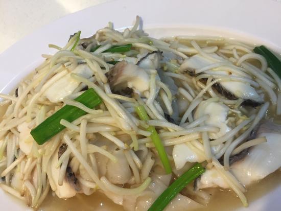 Hong Kong Street Chun Tat Kee : Sliced fish noodles