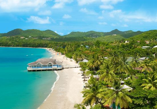 Sandals Halcyon Beach St Lucia All-Inclusive