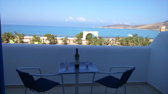 Agiassos, Yunani: Θέα στη θάλασσα