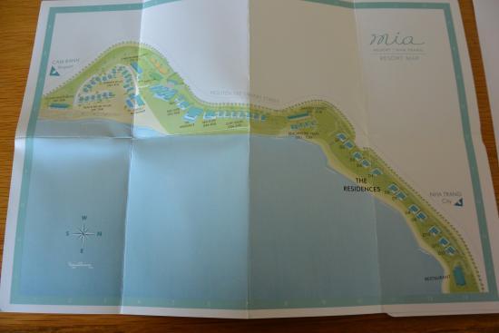 Mia Resort Nha Trang : Bản đồ