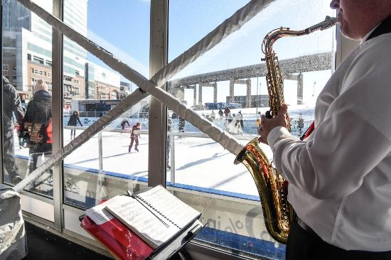 Canalside: Live Entertainment inside the Winter Pavilion