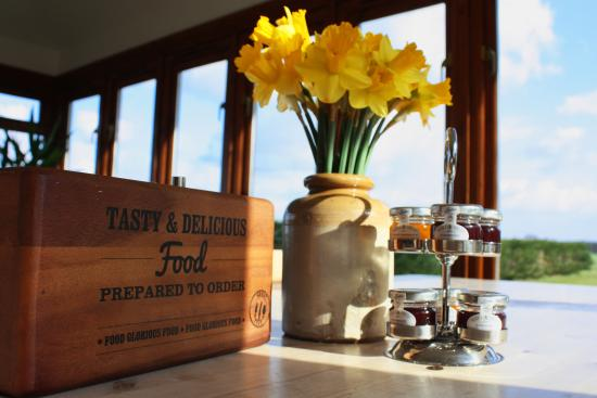 Great Dunmow, UK: Breakfast time