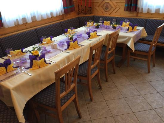 Gross-Enzersdorf, Avusturya: Tischdeko einmal anders