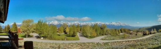 Spring Creek Ranch : view from room pano