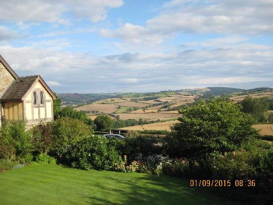Clun, UK: A view from the Bothy