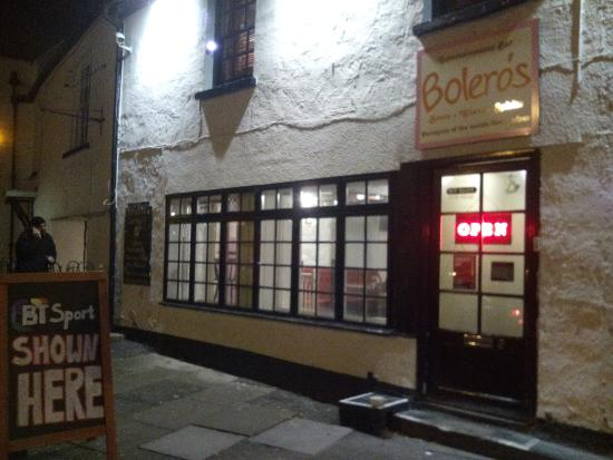 Caerleon, UK: Bolero's Bar