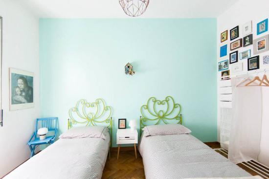 camera doppia con letti singoli bagno di pertinenza - Foto di I ...