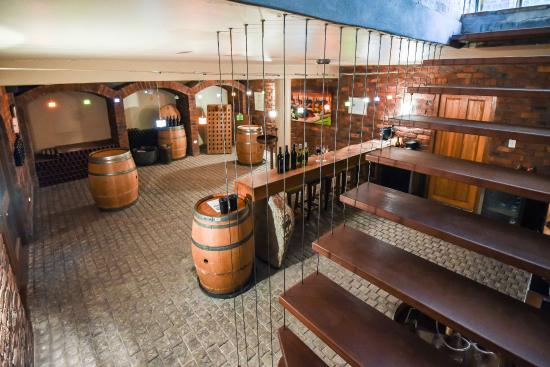 enjoy winetasting downstairs in our underground cellar picture of rh tripadvisor in