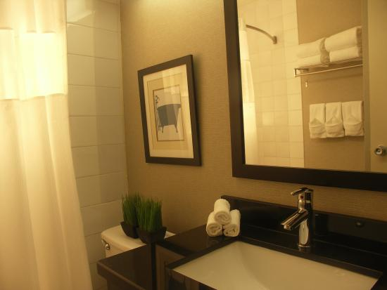 Quality Inn: Guest Bathroom