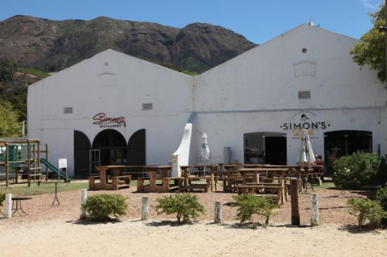 Simon's Restaurant & Simon's Deli, Groot Constantia