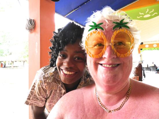 Grand Pineapple Beach Negril: Marvette and Queen Sue:)