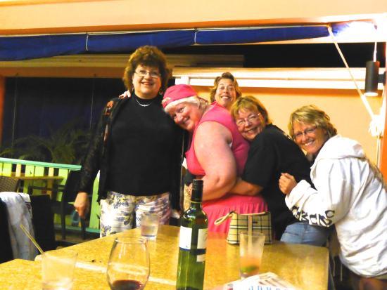 Grand Pineapple Beach Negril: Having fun after dinner!