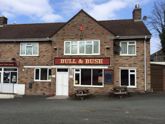 The Bull & Bush pub Ernesettle