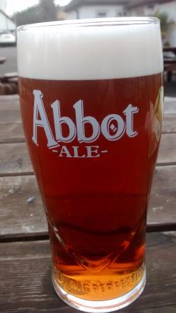 Flitwick, UK: This is what passed for a pint at the Blackbirds