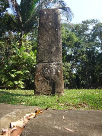 Toledo District, เบลีซ: One of the many stelae you shall see