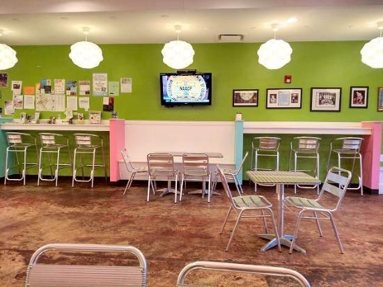 inside picture of sweet frog frozen yogurt chapel hill chapel rh tripadvisor com