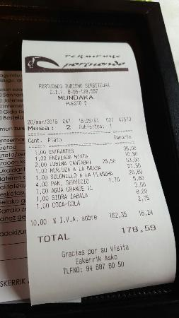 Restaurante Asador Portuondo: 20160320_163800_large.jpg