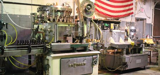 Fairfield, NJ: Bottling Machine