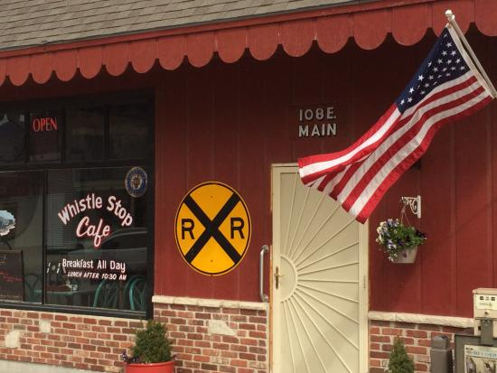 Mayetta, KS: Breakfast All Day at the WhistleStop Cafe!