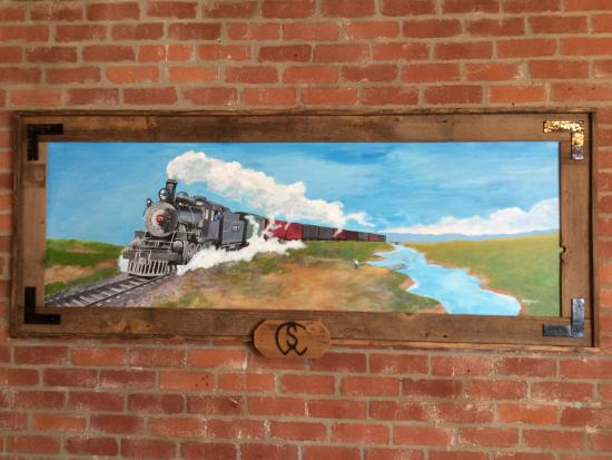 Mayetta, KS: Featuring the art of the late Lester Arnold