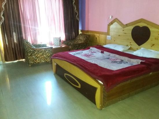 Hotel Nandini Palace: Room