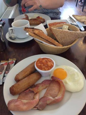 Gabriel House B&B: cooked breakfast