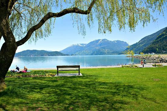 Harrison Beach Hotel: Views of Harrison Lake