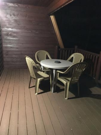 White Oak Lodge & Resort: Balcony